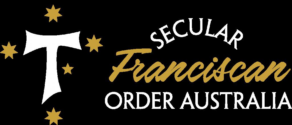 Secular Franciscan Order Logo - Reverse